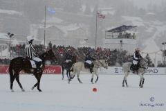 St Moritz Snow Polo World Cup 2019, Day 3, Subsidiary final: Azerbaijan Land of Fire vs Cartier, Final: Maserati vs Badrutt's Palace Hotel, 27/01/2019 - © Tony Ramirez/www.imagesofpolo.com